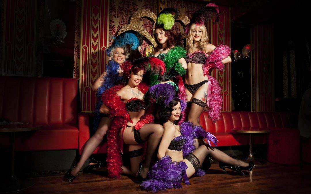 Burlesque Clothing for Performance and Striptease