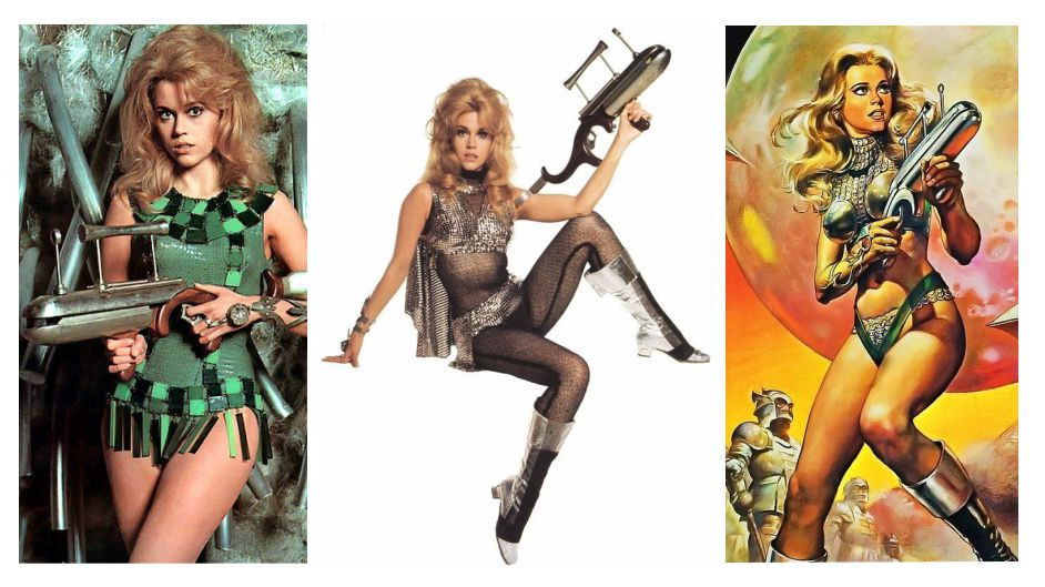 Space Girls Jane Fonda barbarella Cosmic Girl