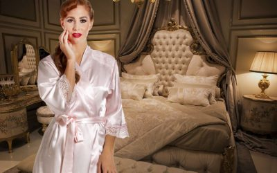 The benefits of sleeping in satin – Cosmic Girl reveals her pyjamas